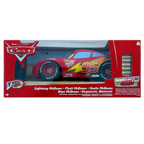 Tyco r/c: disney cars movie radio remote-controlled lightning mcqueen 1:8 race car