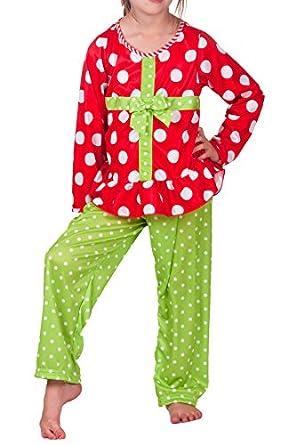 Amazon.com: Laura Dare Little Girls' Red Christmas Present ...