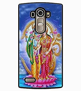 ColourCraft Lord Vishu with Maa Laxmi Design Back Case Cover for LG G4