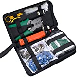 Toch Network Tools 9 in 1 Professional Net Maintenance Repair Tools LAN cable Internet Tester Tools Kit