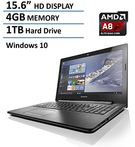 2016-Newest-Lenovo-156-inch-Premium-High-Performance-Laptop-AMD-Quad-Core-A8-6410-up-to-24GHz-4GB-DDR3L-1TB-HDD-DVD-RW-Drive-HDMI-VGA-80211-AC-WiFi-Bluetooth-Webcam-Windows-10-64bit