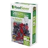 FoodSaver 28 Pint-sized Bags with unique multi layer construction, BPA free