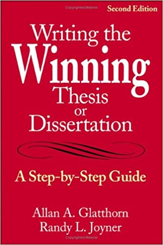 Writing the Winning Thesis or Dissertation: A Step - Barnes & Noble
