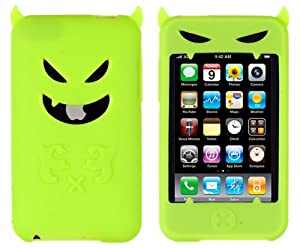 Lime Green Devil Case for Apple iPod Touch 2G / 3G (2nd & 3rd Generation)