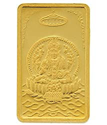 TBZ-The Original 10 gm, 24k(999) Yellow Gold Laxmi Precious Coin