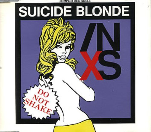 Original album cover of SUICIDE BLONDE CD UK MERCURY 1990 by Inxs