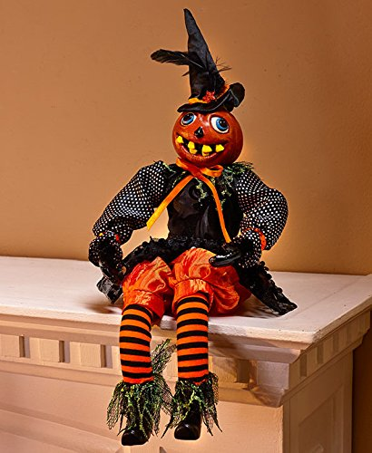 Haunting Home Decor Accents Halloween Decoration (Pumpkin sitter)