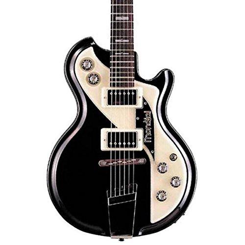 Italia Mondial Classic Semi-Hollow Electric Guitar Black