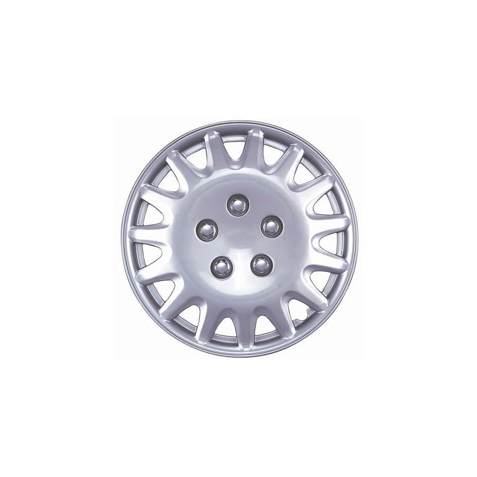 Drive Accessories KT 996 15S/L, Honda Accord, 15 Silver Replica Wheel Cover, (Set of 4)