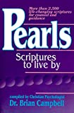 Pearls: Scriptures to Live by (0963673009) by Campbell, Brian