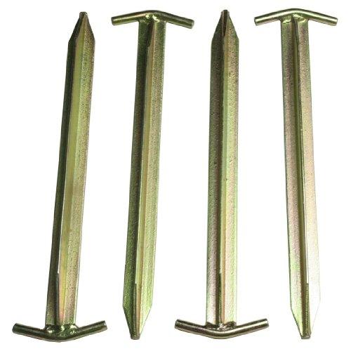 10T Zeltheringe – Stahl T-Profil, 4er-Set - 4