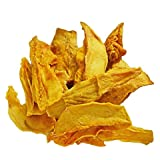 Indus Organic 100% Dried Mango Slices (3 Bags of 7 Oz), Raw, Sulfite Free, No Added Sugar, Freshly Packed