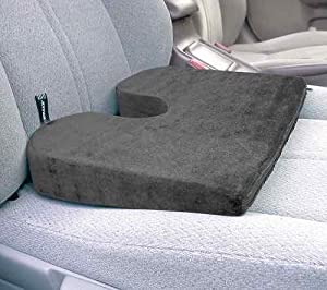 ortho wedge cushion color gray automotive. Black Bedroom Furniture Sets. Home Design Ideas