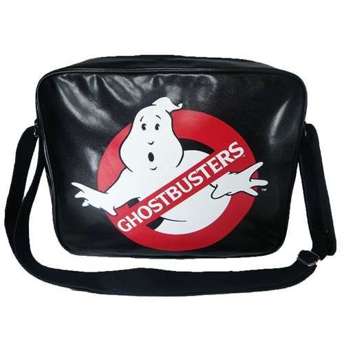 Official Ghostbusters Messenger Bag. Double stitched metal fastening with comfort shoulder pad.