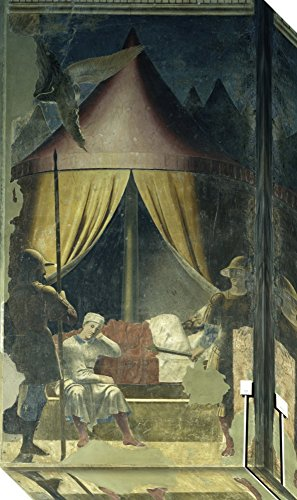 Canvas Art Gallery Wrap 'The Dream of Constantine ca. 1455' by Piero Della Francesca (Constantine Wire compare prices)