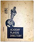 img - for Academy Players Directory Issue 85 (1960) book / textbook / text book