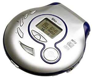 RioVolt SP100 Portable CD/MP3 Player with 120 Second Anti-Shock