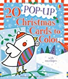 Candice Whatmore 20 Pop-up Christmas Cards to Colour (Usborne Cards to Colour)