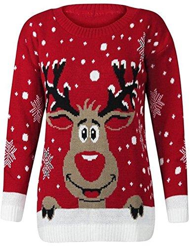 Beste damen pullover selber stricken 2016 damen pullover - Strickanleitung weihnachtspullover ...