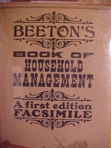 BEETON'S Book of Household Management - A First Edition Facsimile (Beeton Household Management compare prices)