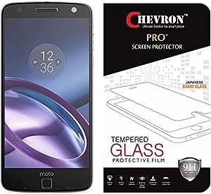 Chevron 0.3mm Pro+ 2.5D Moto Z (Motorola Moto Z) Curved Edges Premium Tempered Glass Screen Protector For