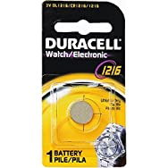 P & G/ Duracell 43287 3V Lithium Watch Battery-DL1216 3V WATCH BATTERY