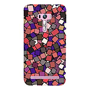 ColourCrust Asus Zenfone Selfie ZD551KL Mobile Phone Back Cover With Pattern Style - Durable Matte Finish Hard Plastic Slim Case