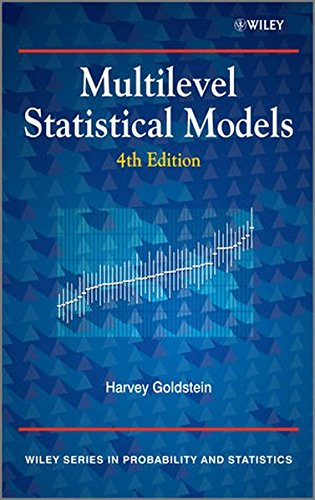 Multilevel Statistical Models 4e (Wiley Series in Probability and Statistics)