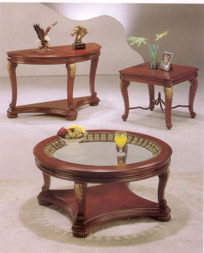Buy Low Price Elegant Coffee/End Table Set (B000OFYNKO