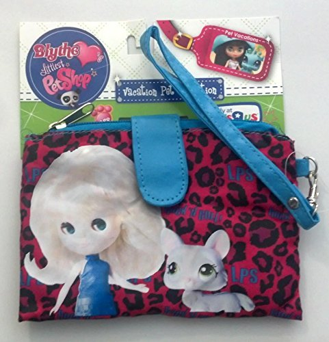Littlest Pet Shop Blythe Vacation Pet Collection Purse Carry Case! Wrist-let Rock N Roll - 1