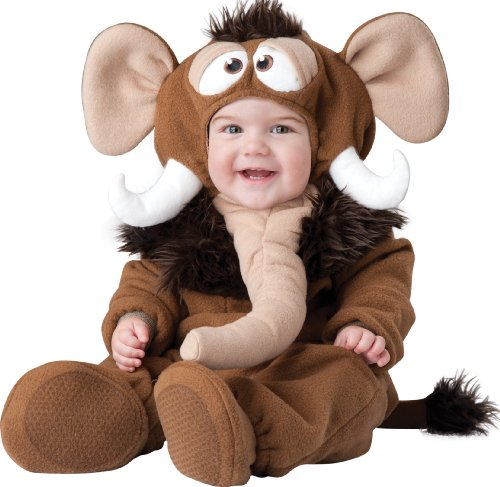InCharacter Baby's Wee Wooly Mammoth Costume