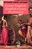 Gypsy-English, English-Gypsy Concise Dictionary (Concise Dictionaries) (0781807751) by Atanas Slavov