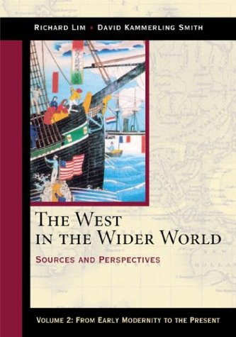 Image for The West in the Wider World: From Early Modernity to the Present