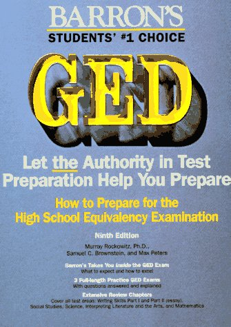 How to Prepare for the Ged High School Equivalency Examination (Barron's How to Prepare for the GED)