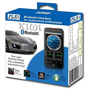 PLX Devices Kiwi Bluetooth Wireless Trip Computer and OBDII Scanner from PLX Devices