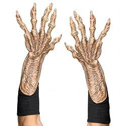 Zagone Studios Men's Monster Gloves, Flesh, Adult One Size