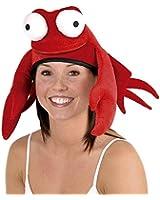 Plush Crab Hat Party Accessory (1 count) (1/Pkg)