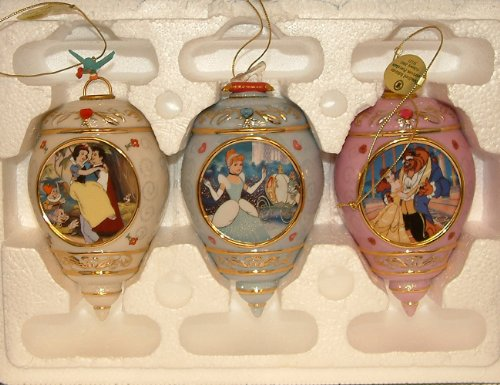 The Bradford Editions Ornament Disney Princesses Collection – 1st Issue