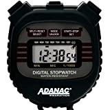 MARATHON Adanac 3000 Digital Stopwatch Timer with Extra Large Display and Buttons, Water Resistant, One Year Warranty
