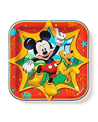 American Greetings Mickey Mouse Square Plate