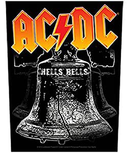 Amazon.com: Ac/dc Hells Bells Back Patch Xlg: Arts, Crafts & Sewing