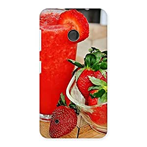 Straberry Juice Multicolor Back Case Cover for Lumia 530