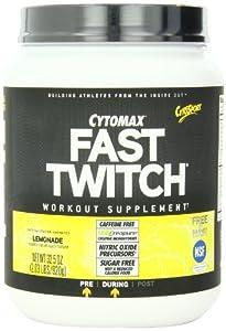CytoSpade, ort Fast Twitch Power Workout Drink Mix,Lemonade,2.03 Pound