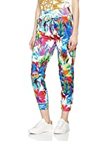 Love Moschino Pantalón (Blanco / Multicolor)