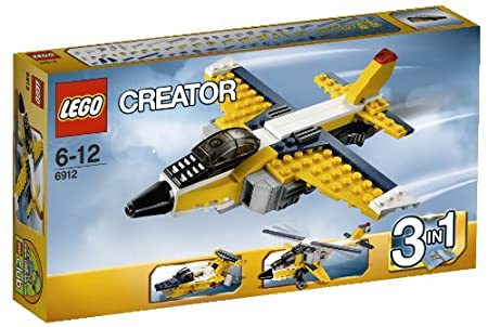 Lego Creator - 6912 - Jeu de Construction - L'Avion à Réaction