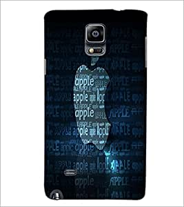 PrintDhaba Typography D-2213 Back Case Cover for SAMSUNG GALAXY NOTE 2 (Multi-Coloured)