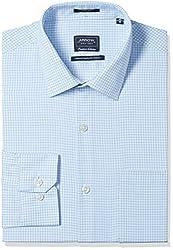 Arrow Men's Formal Shirt (8907378523938_ASSF0312_39_Light Blue)