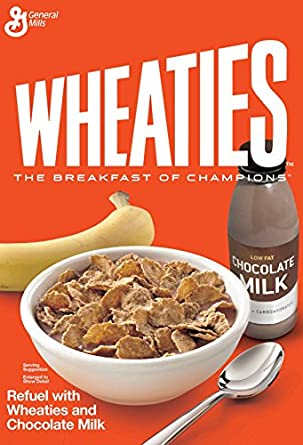 Wheaties Cereal Box Free Coloring Pages