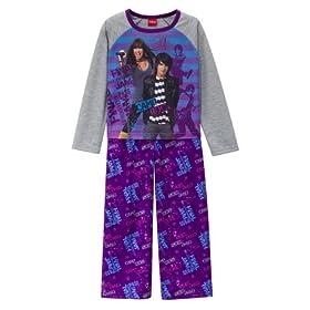 Girls' Camp Rock 2-pc. Pajama Set - Purple