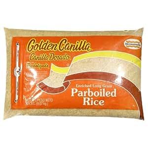 Amazon.com : Goya Golden Canilla Rice, Parboiled, 20-Pound